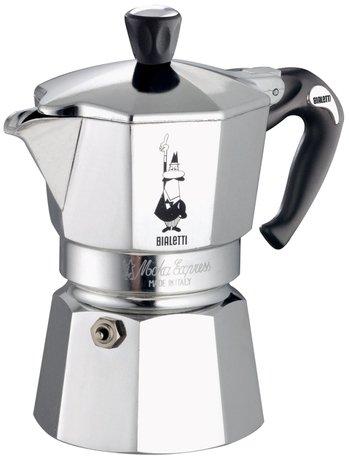 Гейзерная кофеварка Moka Express (0.05 л), на 1 чашку
