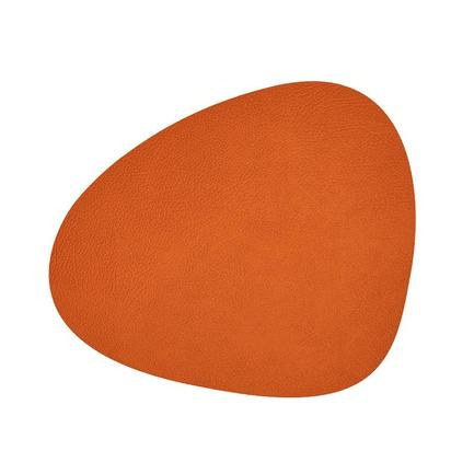 Подстановочная салфетка фигурная, 37х44 см, оранжевая 981305 Lind Dna цена