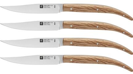 Набор стейковых ножей, 4 пр., с рукояткой из дуба
