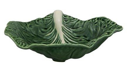 Салатник Капуста, 35х25х11 см BOR65000551 Bordallo Pinheiro салатник bordallo pinheiro фантазия 35 см