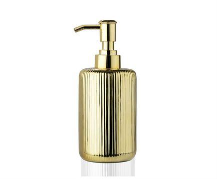 Диспенсер для жидкого мыла Gold Ceramic, золотой BA68094 Andrea House сандалии женские el tempo цвет золотой pac2 470 6425 gold размер 40