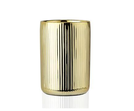 Стакан для зубных щеток Gold Ceramic, золотой BA68093 Andrea House сандалии женские el tempo цвет золотой pac2 470 6425 gold размер 40