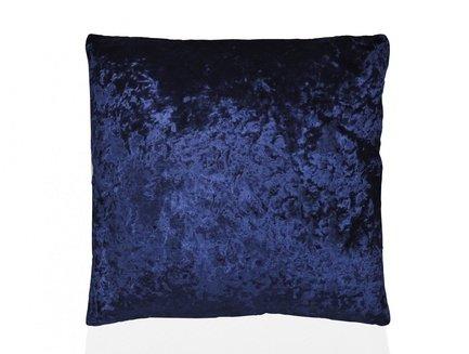 Подушка бархатная Blue Velvet, 45х45 см, темно-синяя