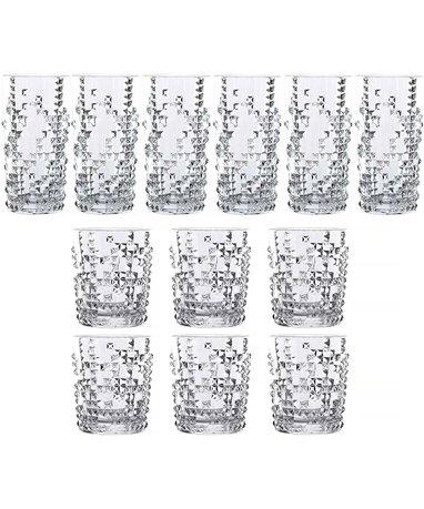 Набор стаканов PUNK, 12 шт., хрустальное стекло 101874 Nachtmann