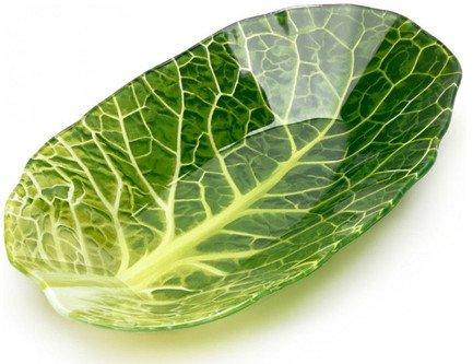 Салатник Leaf Lettuce, 13x22.7х3.3 см