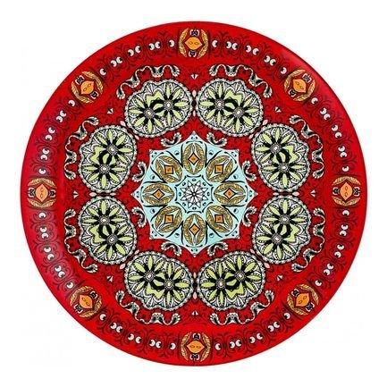 Салатник круглый Рубин, 20 см 22300014 Walmer