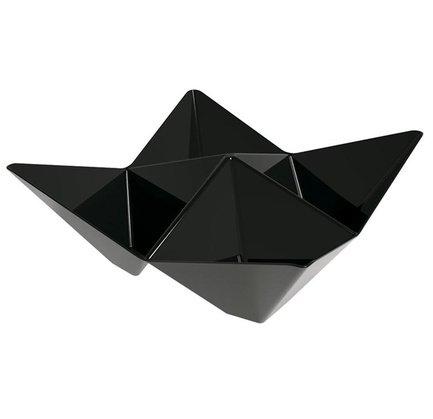 Набор тарелок для фуршета Origami, 10.3x10.3 см, черные, 25 шт V8846111-19 Viejo Valle