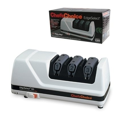 Chefs Choice Точилка для ножей электрическая CC120W, белая CC120W