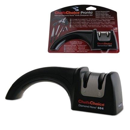 Точилка для ножей механическая CC464, черная CC464 Chefs Choice chefs choice точилка электрическая для заточки ножей chef'schoice черная cc317 chefs choice
