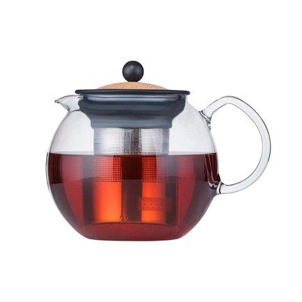 Чайник заварочный Assam с фильтром (1 л), пробковый 1801-109S Bodum стоимость