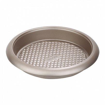 Форма для выпечки круглая Rada, 27х4.5 см, антипригарная 761011 Nadoba форма для выпечки разъемная rada 25х6 см антипригарная 761010 nadoba