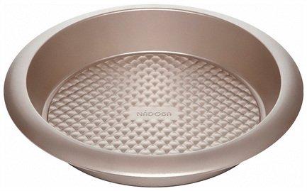 Форма для выпечки круглая большая Rada, 29.5х5.5 см, антипригарная 761021 Nadoba форма для выпечки разъемная rada 25х6 см антипригарная 761010 nadoba