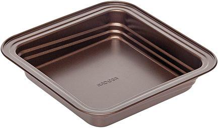 Форма для выпечки квадратная Liba, 24х24х5 см, антипригарная 761113 Nadoba