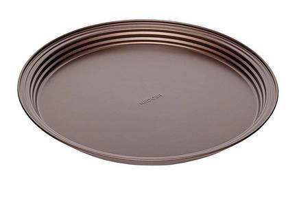 Форма круглая для пирога/пиццы Liba, 34х2.8 см, антипригарная 761118 Nadoba