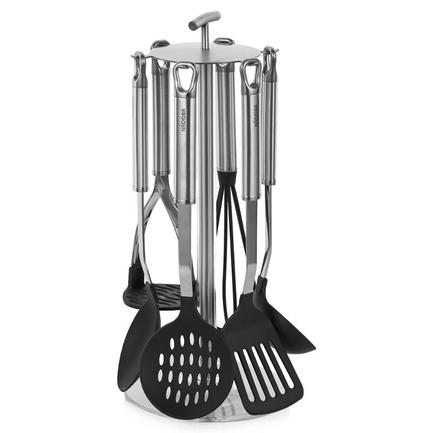 Набор кухонных инструментов с нейлоновым покрытием Anezka, 7 пр 721118 Nadoba набор кухонных принадлежностей nadoba anezka