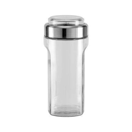 Емкость для сыпучих продуктов с мерным стаканом Petra (1.55 л) 741011 Nadoba