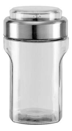 Емкость для сыпучих продуктов с мерным стаканом Petra (1.15 л) 741012 Nadoba