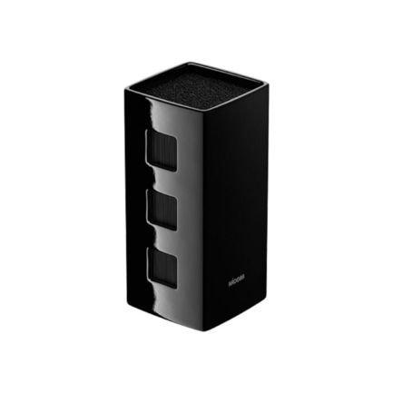 Универсальный керамический блок для ножей Esta, 24х13х13 см, черный 723214 Nadoba
