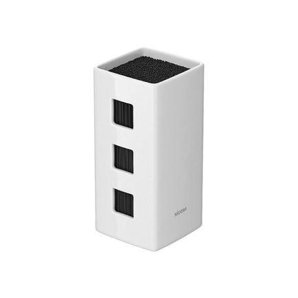 Универсальный керамический блок для ножей Esta, 24х13х13 см, белый 723213 Nadoba