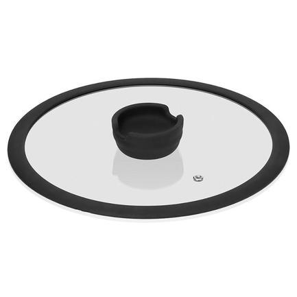 Стеклянная крышка с силиконовым ободом Fina, 20 см 751015 Nadoba