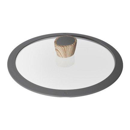 Стеклянная крышка с силиконовым ободом Mineralica, 20 см 751215 Nadoba