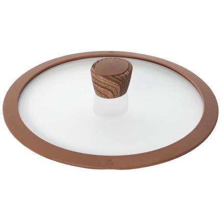 Стеклянная крышка с силиконовым ободом Greta, 26 см 751312 Nadoba