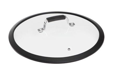 Стеклянная крышка с силиконовым ободом Lota, 28 см 751411 Nadoba