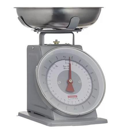 Весы кухонные Living, 24.3х26.3х21.4 см, серые