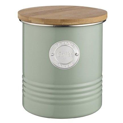 Емкость для хранения кофе Living (1 л), зеленая 1400.966V Typhoon подушка бамбуковая неотек бамбук 70х70