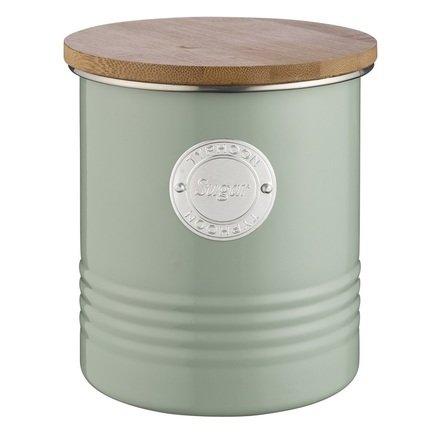 Емкость для хранения сахара Living (1 л), зеленая 1400.968V Typhoon подушка бамбуковая неотек бамбук 70х70