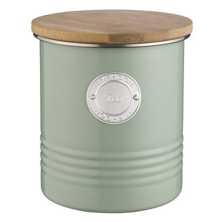 Емкость для хранения чая Living (1 л), зеленая 1400.965V Typhoon подушка бамбуковая неотек бамбук 70х70