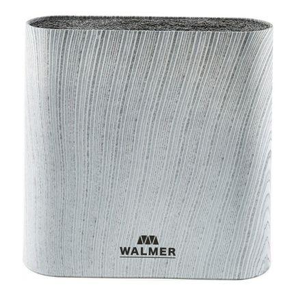 Подставка для ножей Grey Lines, 21.5х6.1х23 см, овальная, серая