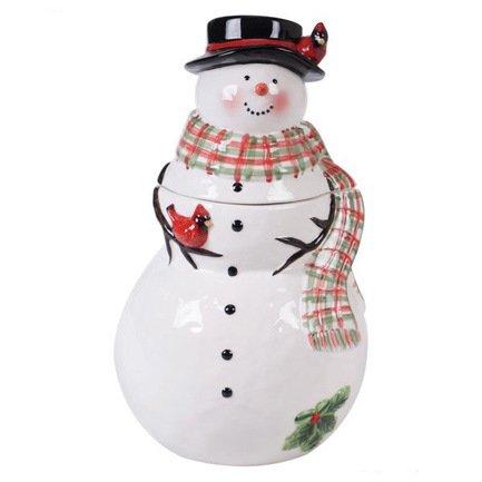 Банка для печенья 3D Снеговик, 28 см CER41832 Certified International Corp банка для печенья 28 см certified international
