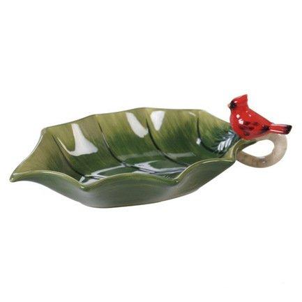 Салатник Зимние заметки Лист падуба, 25х14 см CER19216 Certified International Corp вешалка homequeen пластиковая цвет зеленый длина 41 см