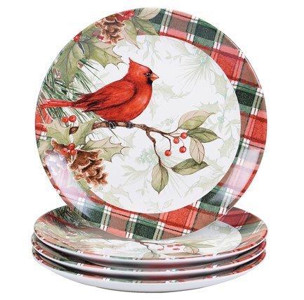 Тарелка обеденная Зимние заметки, 28 см, в ассортименте CER32360 Certified International Corp тарелка обеденная зимний сад радость 28 см cer28315 1 certified international corp