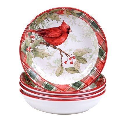 """Тарелка суповая """"Зимние заметки"""", 23 см, в ассортименте CER32371 Certified International Corp"""