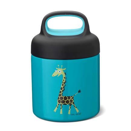 Термос для еды LunchJar Giraffe (0.3 л), бирюзовый 109103 Carl Oscar недорого