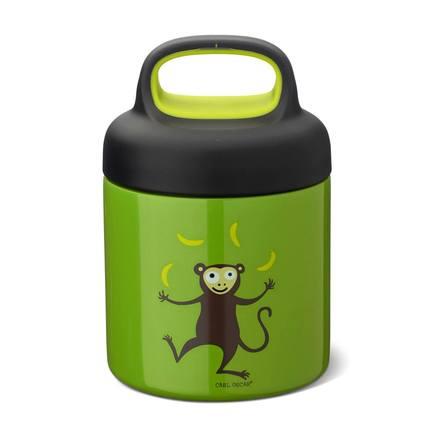 Термос для еды LunchJar Monkey (0.3 л), лайм 109101 Carl Oscar недорого