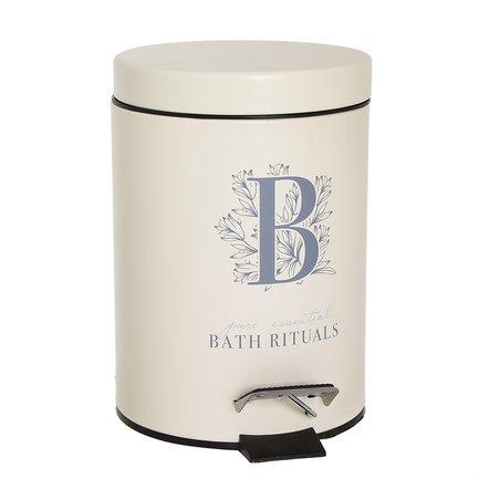 цена Ведро для мусора Bath Rituals с педалью (3 л), 17х24.5 см 286926 D'casa онлайн в 2017 году