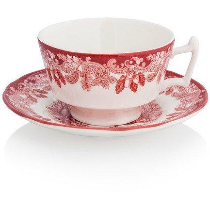 декорирование Чашка чайная с блюдцем Зимние мотивы (200 мл) SPD-WSC1138-1 Spode