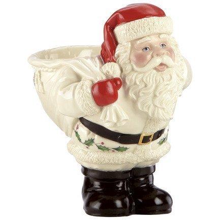 Чаша для конфет Дед Мороз с мешком, Новогодние праздники, 15 см LEN830130 Lenox