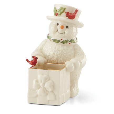 Банка для конфет Снеговичок, 16 см LEN887588 Lenox