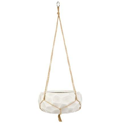 Кашпо Мозаик Подвесное, 29.5х15 см, слоновая кость HPM29-AW IDEALIST кубок ника лучший руководитель высота 20 см