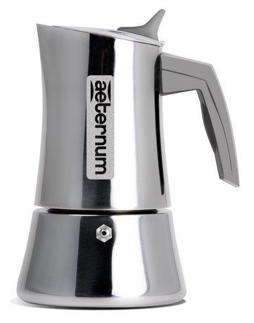Фото - Гейзерная кофеварка Divina (160 мл), на 4 чашки 0006282 Aeternum гейзерная кофеварка bialetti aeternum divina 4 порции металлик