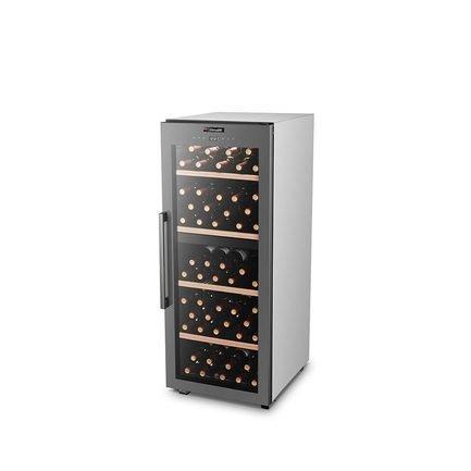 Шкаф для хранения вина, двухзонный, 110 бутылок CLS110MT Climadiff дверь для шкафа дейли 40х92 см