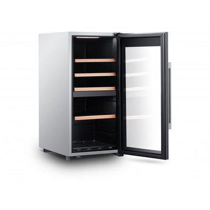 Шкаф для хранения вина, двухзонный, 41 бутылка CLS41MT Climadiff дверь для шкафа дейли 40х92 см