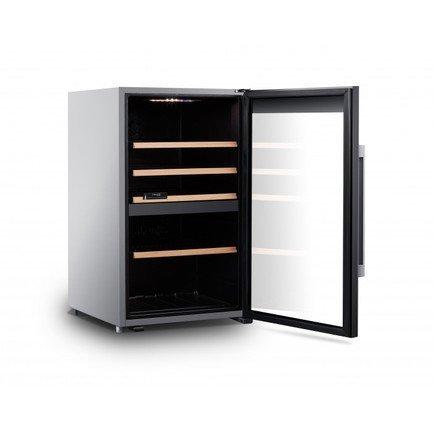 Шкаф для хранения вина, двухзонный, 56 бутылок CLS56MT Climadiff дверь для шкафа дейли 40х92 см