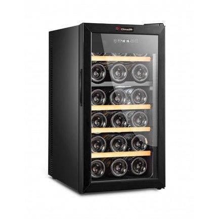 Шкаф для хранения вина, двухзонный, 18 бутылок DUOVINO18 Climadiff дверь для шкафа дейли 40х92 см