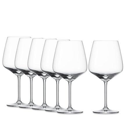 Набор бокалов для красного вина Taste (782 мл), 6 шт. 115 673-6 Schott Zwiesel набор бокалов для воды объем 300 мл высота 13 см 6 штук прозрачное стекло серия vintage 7756 2 ivv италия