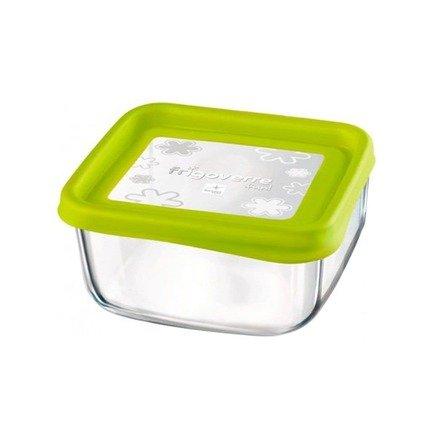 Контейнер Frigoverre Fun (0.75 л), 15х15 см, зеленый 387870MV2321990 Bormioli Rocco вешалка homequeen пластиковая цвет зеленый длина 41 см